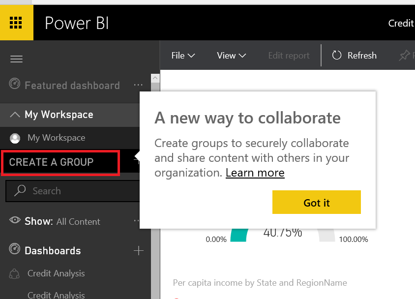 power bi groups